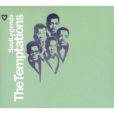 The Temptations SOUL LEGENDS CD