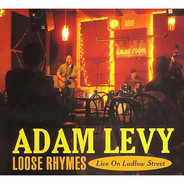 Adam Levy LOOSE RHYMES: LIVE ON LUDLOW STREET CD