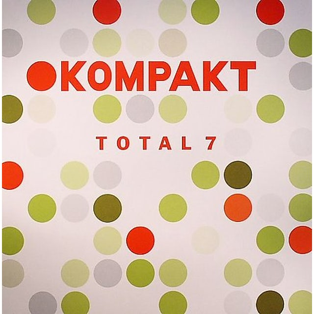 Kompakt Total 7 / Various Vinyl Record