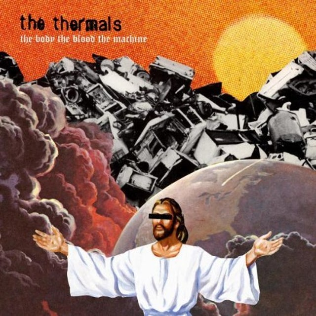 Thermals BODY THE BLOOD THE MACHINE CD