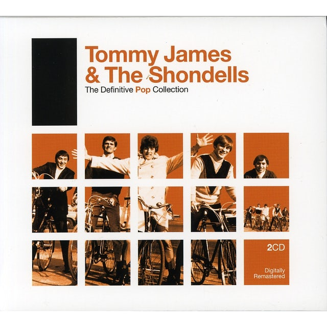 Tommy James & Shondells DEFINITIVE POP CD
