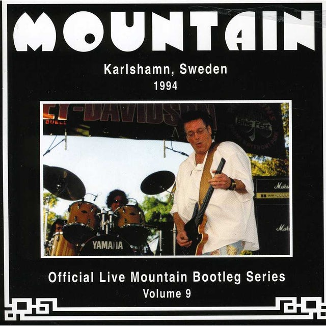 Mountain OFFICIAL BOOTLEG 9: KARLSHAMN SWEDEN 1994 CD