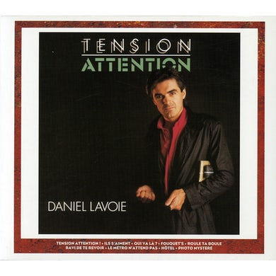 Daniel lavoie TENTION ATTENTION CD