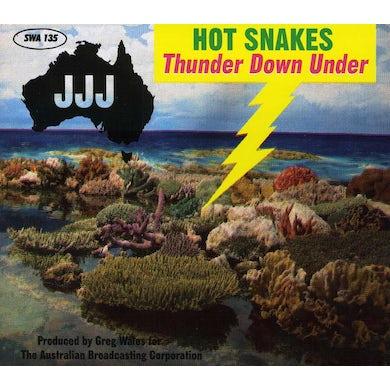 Hot Snakes THUNDER DOWN UNDER CD