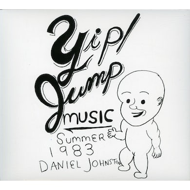 Daniel Johnston YIP JUMP MUSIC CD