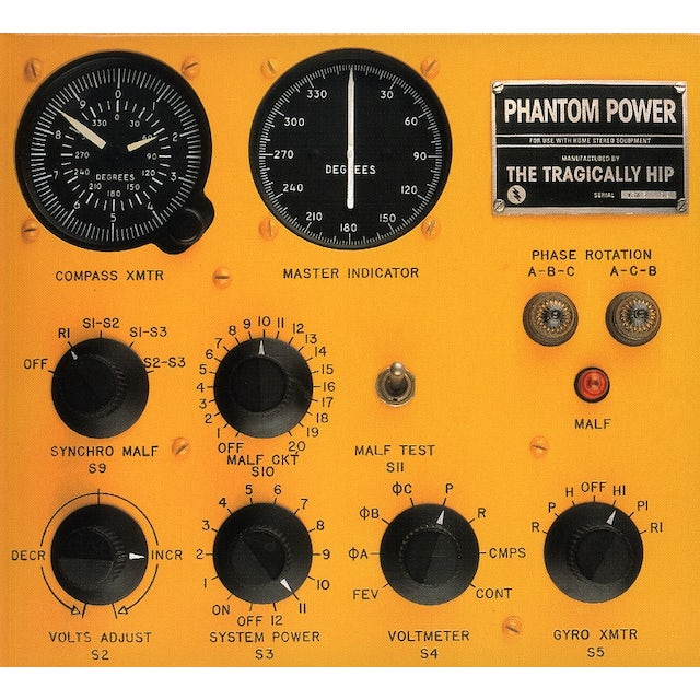 The Tragically Hip PHANTOM POWER CD