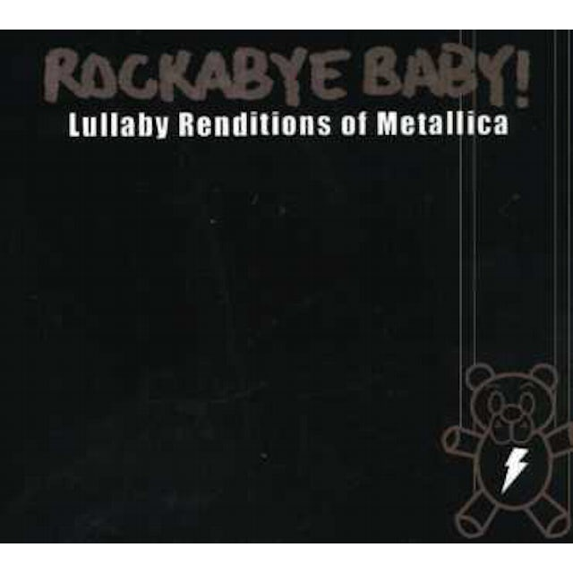 Rockabye Baby LULLABY RENDITIONS OF METALLICA CD