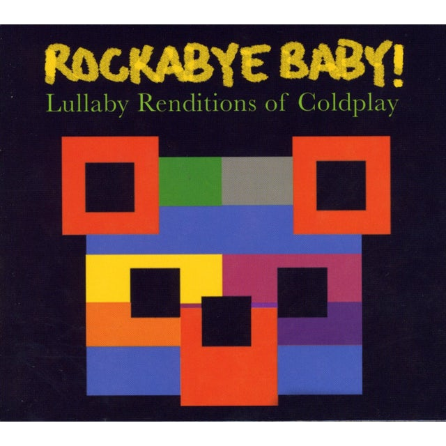 Rockabye Baby LULLABY RENDITIONS OF COLDPLAY CD