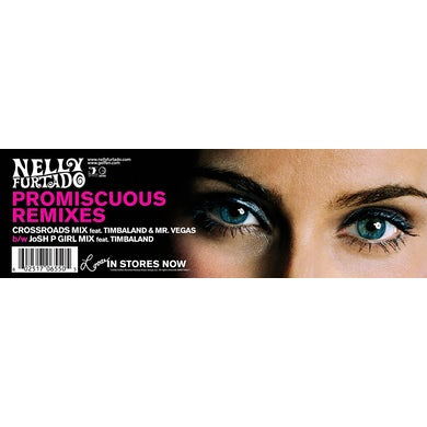 Nelly Furtado PROMISCUOUS (X4) Vinyl Record