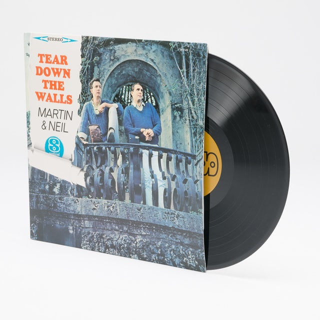 Vince Martin & Fred Neil TEAR DOWN THE WALLS Vinyl Record