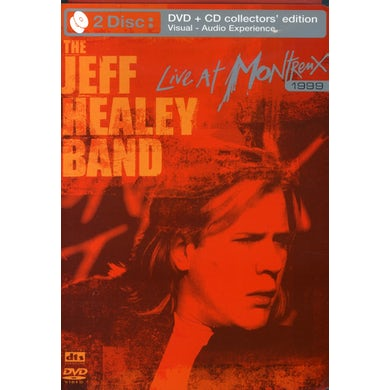 Jeff Healey LIVE AT MONTRENX 1997 & 1999 DVD