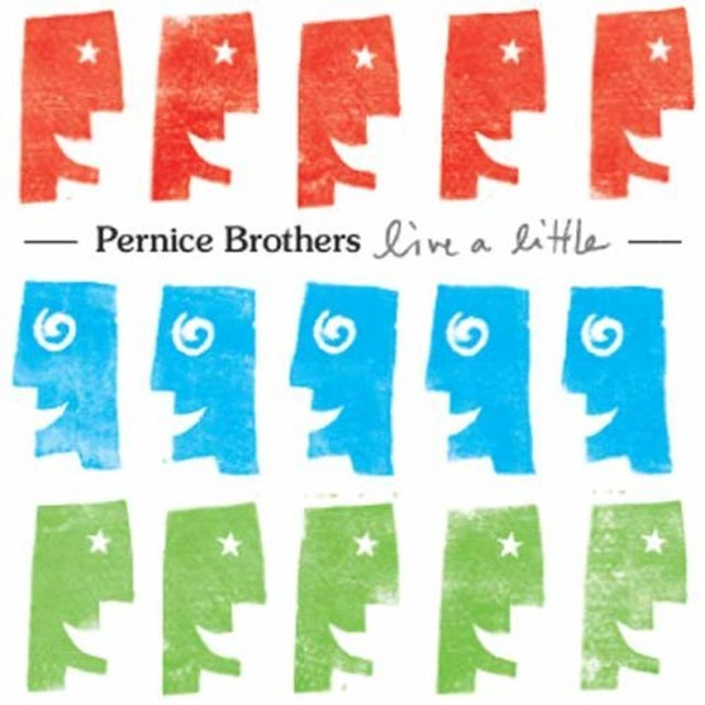 Pernice Brothers LIVE A LITTLE CD