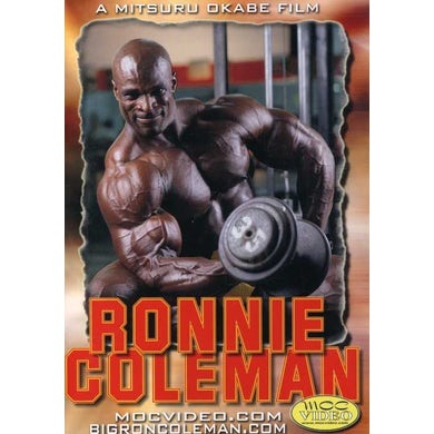 Ronnie Coleman FIRST TRAINING VIDEO DVD