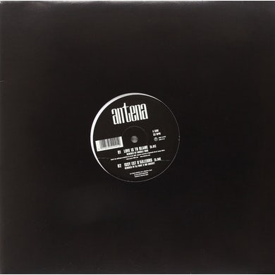 Antena LOVE IS TO BLAME/REMIXES Vinyl Record