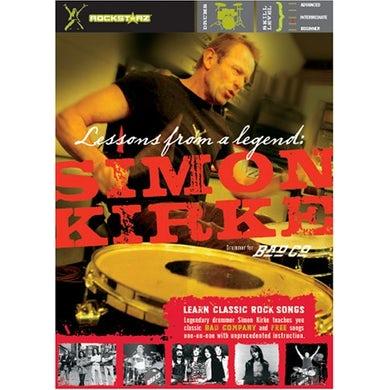 Simon Kirke LESSONS FROM A LEGEND DVD