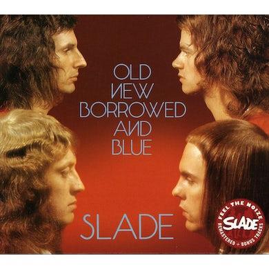 Slade OLD NEW BORROWED & BLUE CD