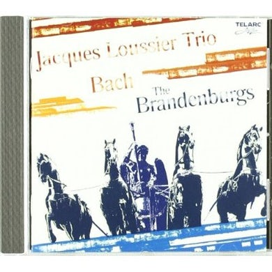 Jacques Loussier BACH: THE BRANDENBURGS CD