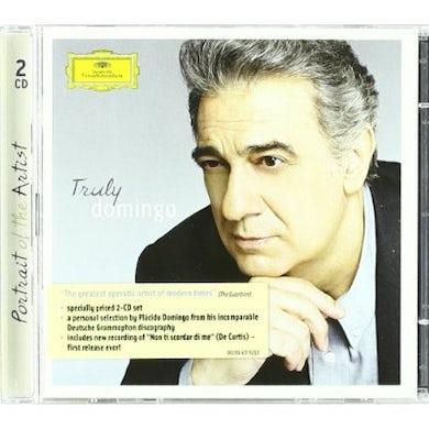 Placido Domingo TRULY DOMINGO CD