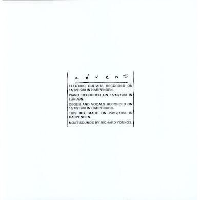 Richard Youngs ADVENT Vinyl Record