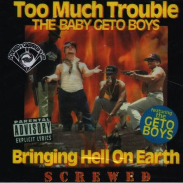 Too Much Trouble BRINGING HELL ON EARTH CD