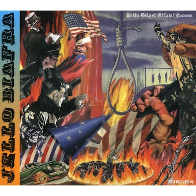 Jello Biafra IN THE GRIP OF OFFICIAL TREASON CD