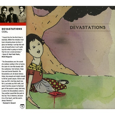 Devastations COAL CD