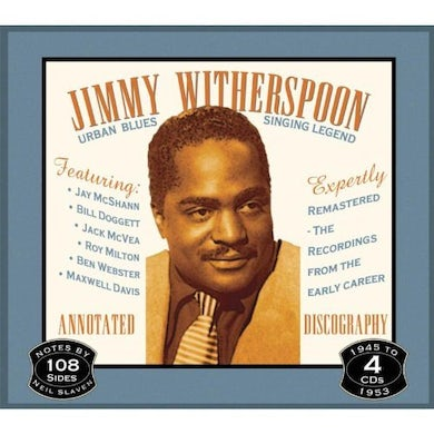 Jimmy Witherspoon URBAN BLUES SINGING LEGEND CD