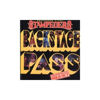 Stampeders BACKSTAGE PASS CD