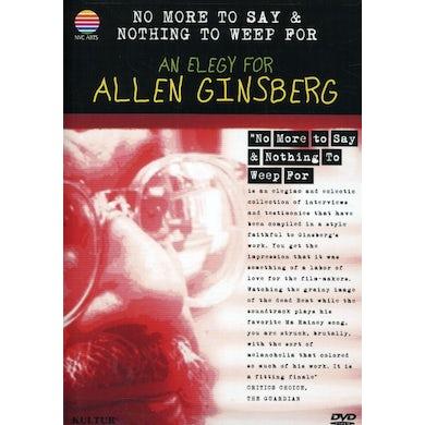 Allen Ginsberg ELEGY DVD