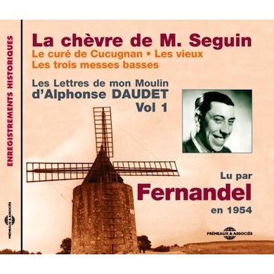 Fernandel LA CHEVRE DE MONSIEUR SEGUIN: LE CURE DE CUCUGNAN CD