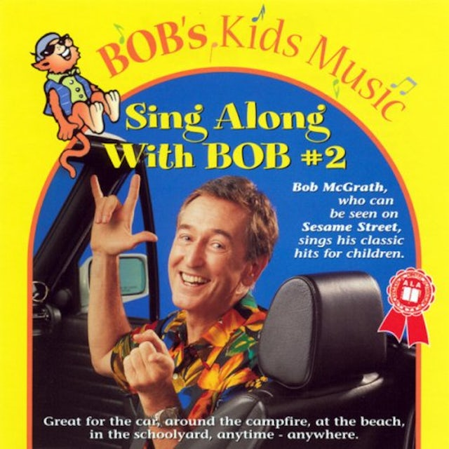 Bob McGrath SING ALONG WITH BOB 2 CD