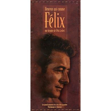 Felix Leclerc HEUREUX QUI COMME FELIX CD