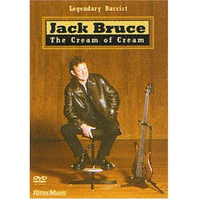 Jack Bruce CREAM OF CREAM DVD