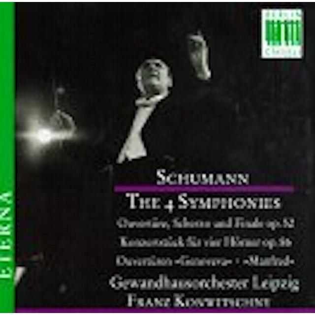 Schumann FOUR SYMPHONIES CD