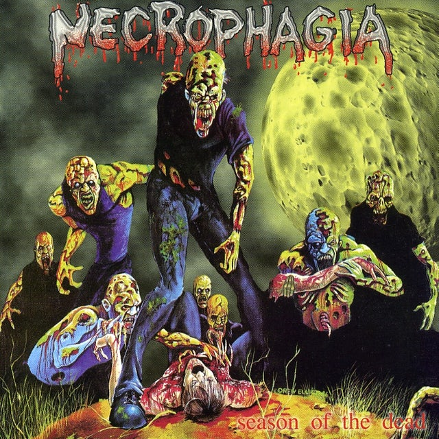 Necrophagia SEASON OF THE DEAD CD