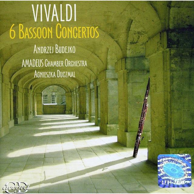 Vivaldi 6 BASSOON CONCERTOS CD