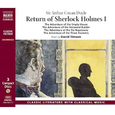 Arthur Conan Doyle RETURN OFSHERLOCK HOLMES CD