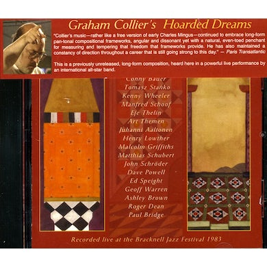 Graham Collier HOARDED DREAMS CD