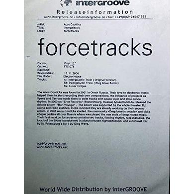 Acos Coolkas INTERGALACTIC Vinyl Record