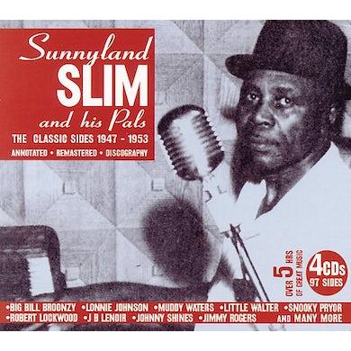 Sunnyland Slim & His Pals CLASSIC SIDES 1947-1953 CD