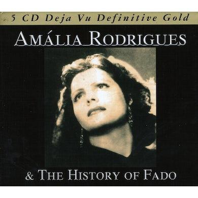 Amalia Rodrigues HISTORY OF FADO CD