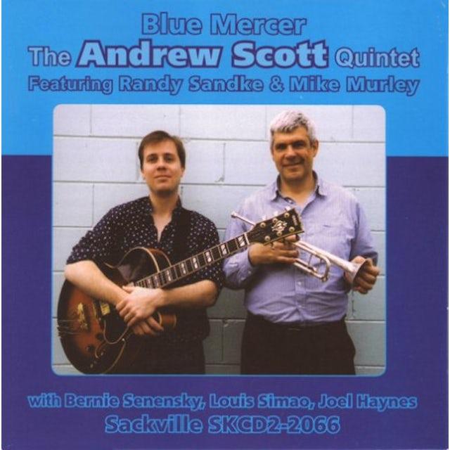 Andrew Scott BLUE MERCER CD