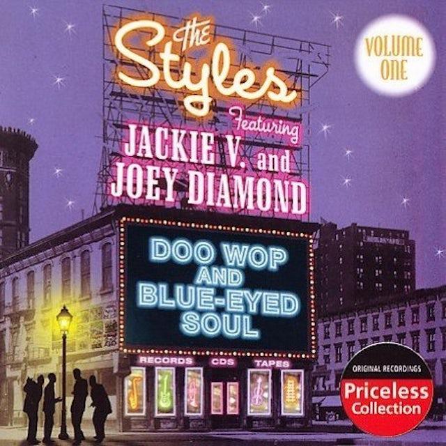 Styles DOO WOP & BLUE-EYED SOUL 1 CD