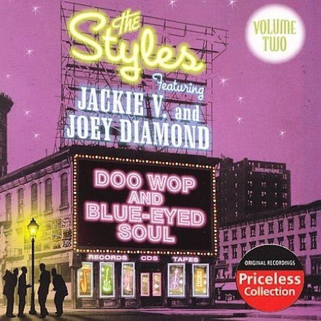 Styles DOO WOP & BLUE-EYED SOUL 2 CD