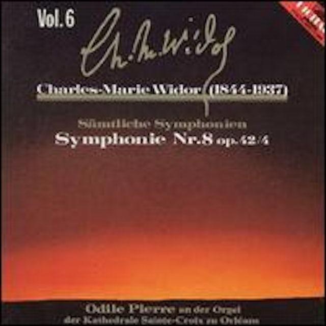 Widor COMPLETE SYMPHONIES 6 CD
