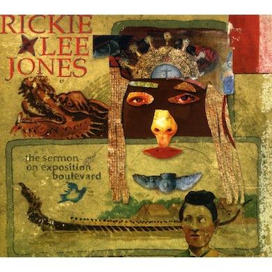 Rickie Lee Jones SERMON ON EXPOSITION BOULEVARD CD