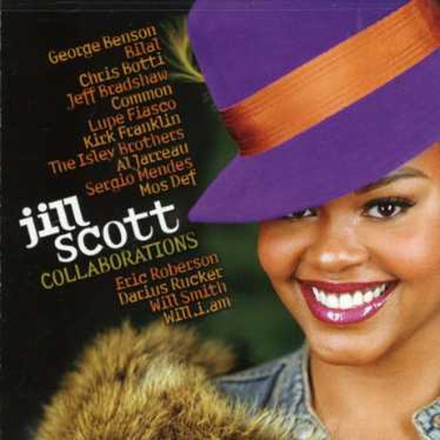 Jill Scott COLLABORATIONS CD