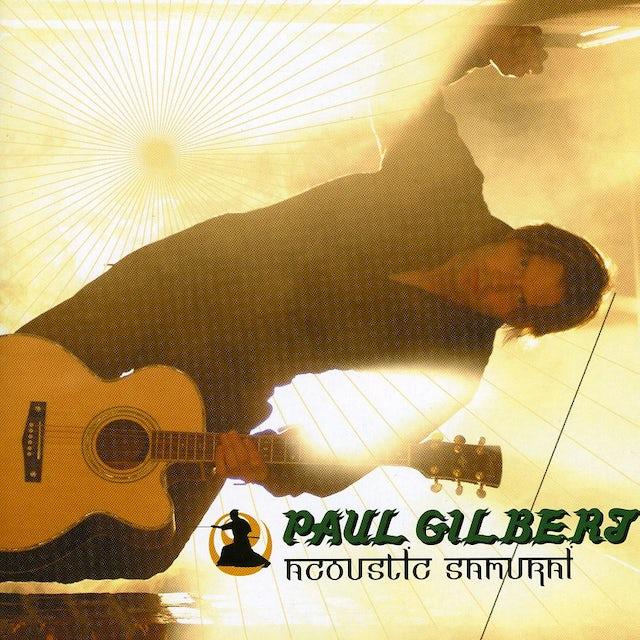 Paul Gilbert ACOUSTIC SAMURAI: LIVE AT HARD ROCK CAFE TOKYO CD