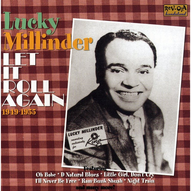 Lucky Millinder LET IT ROLL AGAIN 1949-1955 CD