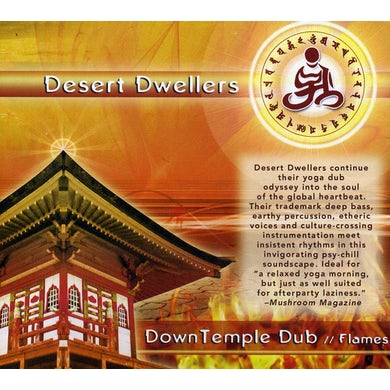 Desert Dwellers DOWNTEMPLE DUB: FLAMES CD